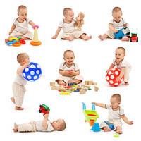 Развитие малыша с помощью игр