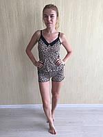 """Комплект шорты и майка """"Леопард"""""""