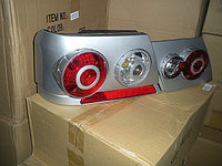 Задние фонари на ВАЗ 2115 в виде модулей (цвет серебристый)