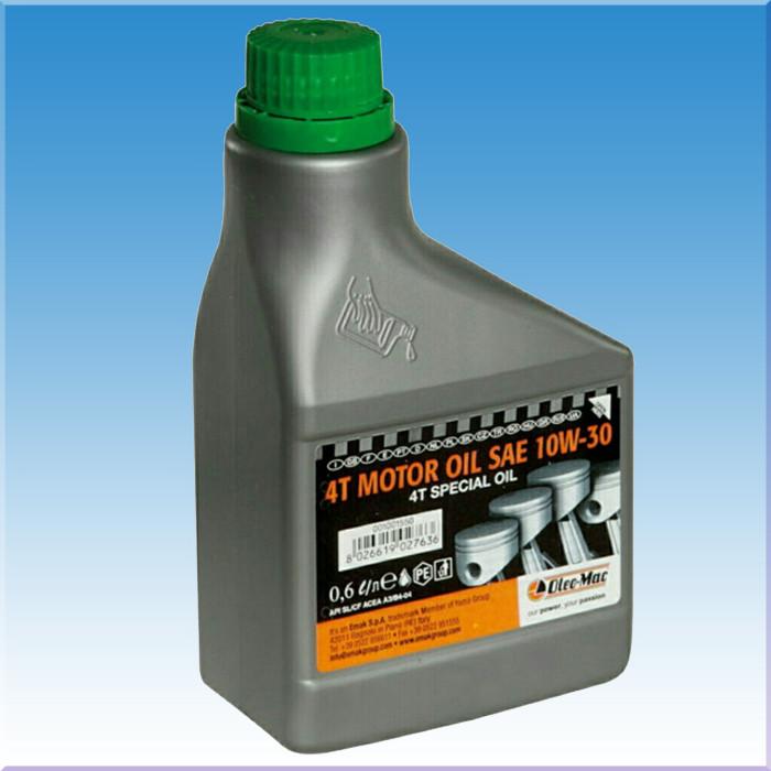 Масло Oleo-Mac 4T SAE 10W-30 для четырехтактных двигателей (0.6 л.)