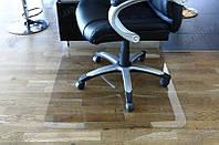 Коврик под кресло для защиты пола прозрачный 125х125см.