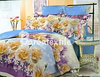 Евро набор постельного белья Ранфорс №108
