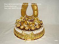"""Подарок из конфет """"для олигарха""""(вариант 3), фото 1"""