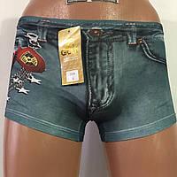"""Трусы детские """"Golt"""" джинсы, фото 1"""