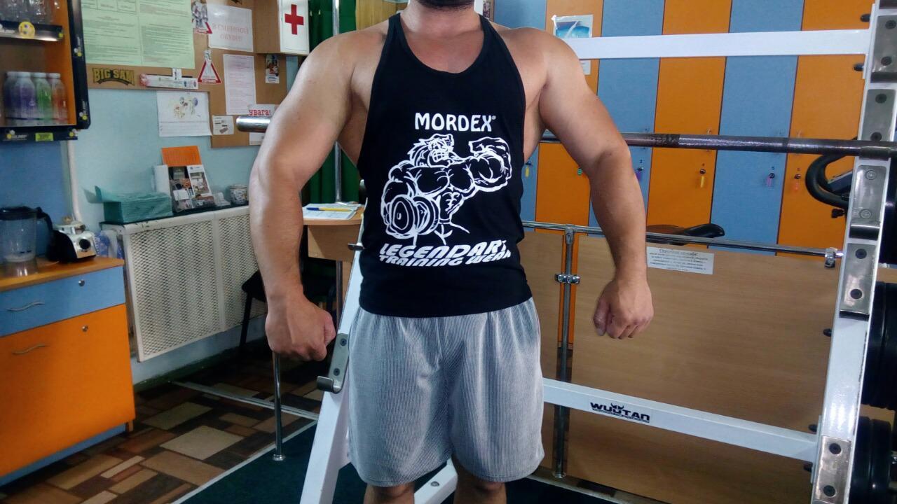 """Майка для бодибилдинга """"MORDEX"""" (красная) размер L - Интернет-магазин """"МАКСИМУМ"""" в Черновцах"""
