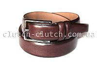 Ремень для брюк LIM коричневый с темными краями