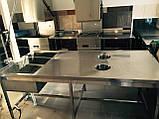 Мебель из нержавейки для столовых, фото 5