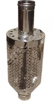 Труба під камінь нерж для димоходу 110 мм