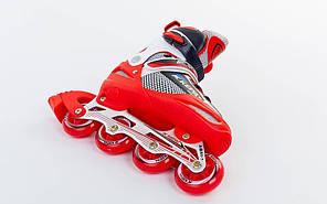 Роликовые коньки раздвижные Kepai F1-S4-R, фото 2