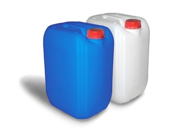 Перекис водню - пергідроль 50% каністра 10 кг для очищення басейну, активний кисень