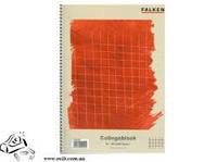 Тетрадь А4 Falken 80 листов в клетку на спирале