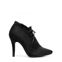 Женские ботинки на шнурках и шпильке. Новинка 2016