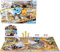 Детский трек с джипами и песком 8888-21
