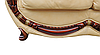 """Кожаный четырехместный раскладной диван """"Джове"""" (240см), фото 8"""