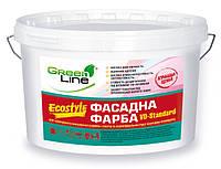 Green Line VD-Standard Ecostyle - фасадная акриловая краска (10л)