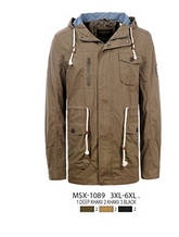 Мужская парка-куртка GLO-Story (3XL-6XL)
