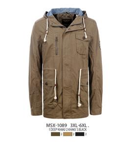 Мужская парка-куртка GLO-Story MSX-1089 (3XL-6XL)