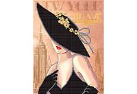 """Схема для вышивки бисером """"Нью-Йорк"""""""