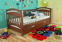 Кровать из массива дерева 043
