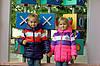 Куртка-жилетка детская на девочку, фото 2