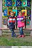Куртка-жилетка детская на девочку, фото 3