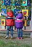 Куртка-жилетка детская на девочку, фото 5