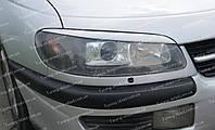 Реснички Опель Омега Б (накладки на передние фары Opel Omega B)