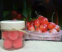 Сахарный скраб для тела Вишня с миндалем HandMade (130г)