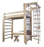 Детская кровать-чердак со спортивным уголком 278