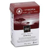 Молотый кофе Kowa Ethiopia (Эфиопия) моносорт 100% арабика 250 г