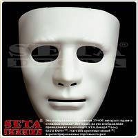 """Венецианская маска на прокат """"Белое Лицо"""" карнавальная"""