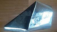 Алюбонд полотно Спанбонд фольгированное, рулон 50м2