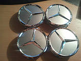Колпачки в литые диски Mercedes (1шт.), фото 2