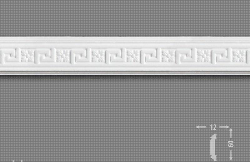 Плинтус потолочный LB 2816 ДОБРА СПРАВА