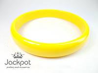 Яркий браслет желтый