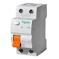 Дифференциальный выключатель нагрузки (УЗО) ВД63 2П 25А 30мА Schneider Electric.