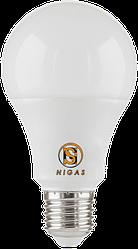 NIGAS Світлодіодна лампа LED-NGS-50 A60 E27 4000K 15W