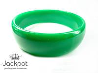 Яркий браслет зеленый