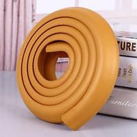 Защитная лента на острые края мебели - толстая. Светло-коричневый