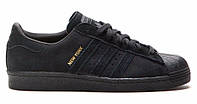 "Кроссовки Adidas Superstar [City Pack] ""New York"" - ""Черные"""