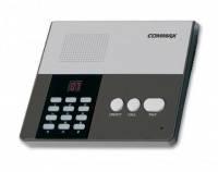 Центральный пульт громкой связи на 10 абонентов Commax CM-810. Переговорные устройства