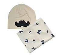 Набор шапка и снуд  детский