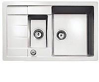 Мойка кухонная из тегранита TEKA ASTRAL 60 B-TG (белый), фото 1