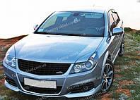 Реснички Опель Вектра С рестайл (накладки на передние фары Opel Vectra C)