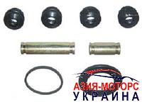 Ремкомплект суппорта (2 направляющие+4 пыльника) Geely CK (Джили СК-СК 2) 3501100180(3502100180