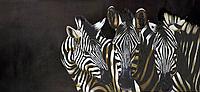 Схема для вышивки бисером POINT ART Сафари, размер 65х30 см