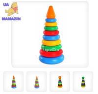 Развивающая игрушка Пирамидка 11 элементов Тигрес 39103