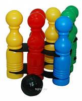 Развивающая игрушка Кегельбан 11 элементов Тигрес 39111