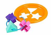 Розвиваюча іграшка Логічне кільце 5 елементів Тигрес 39165
