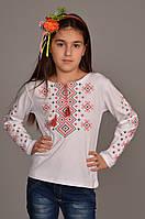 """Детская футболка с рукавом для девочки """"ОРНАМЕНТ"""""""